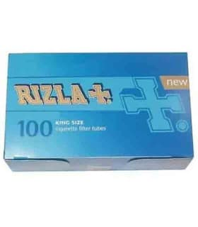 Τσιγαροσωλήνες Rizla King Size Filter Tubes των 100 - άδεια τσιγάρα - 1 Πακέτο