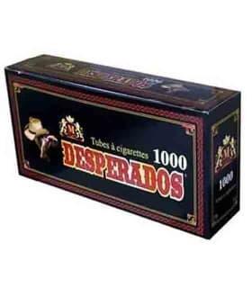 Τσιγαροσωλήνες Desperados Tubes των 1000 - άδεια τσιγάρα - 1 Πακέτο