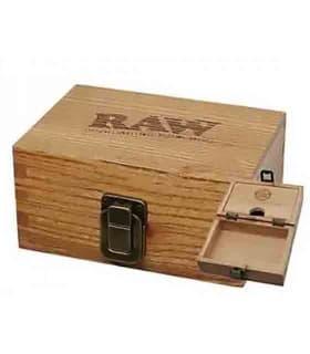 Κουτί στριφτού Raw Wooden Box 12681