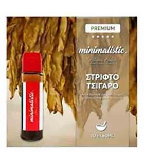MINIMALISTIC ΣΤΡΙΦΤΟ ΤΣΙΓΑΡΟ Shake And Vape 30/60ml (Καπνικό)