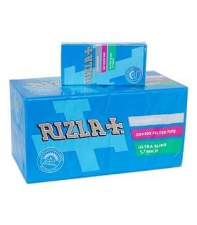 Φιλτράκια Rizla ULTRA SLIM 5.7mm, 120 (κουτί με 20 πακετάκια)