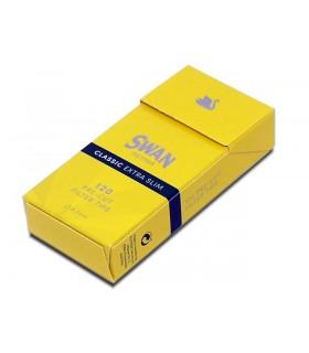 Φιλτράκια SWAN Extra Slim Classic 5.7mm Κίτρινα - (1 Μικρό Πακετάκι)