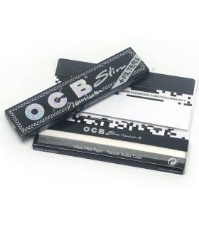 Χαρτάκια OCB Premium King Size Slim με 32 φύλλα και τζιβάνες - 1 Πακετάκι