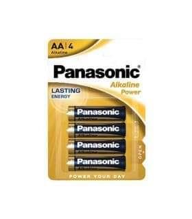 PANASONIC AA ΑΛΚΑΛΙΚΕΣ LR6 1.5V AM3 MN1500 (4 ΜΠΑΤΑΡΙΕΣ)